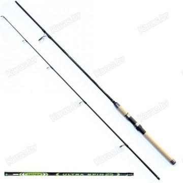 Спиннинг SALMO ULTRA SPIN 25 2.40м, композит, тест 5-25 г, 188г